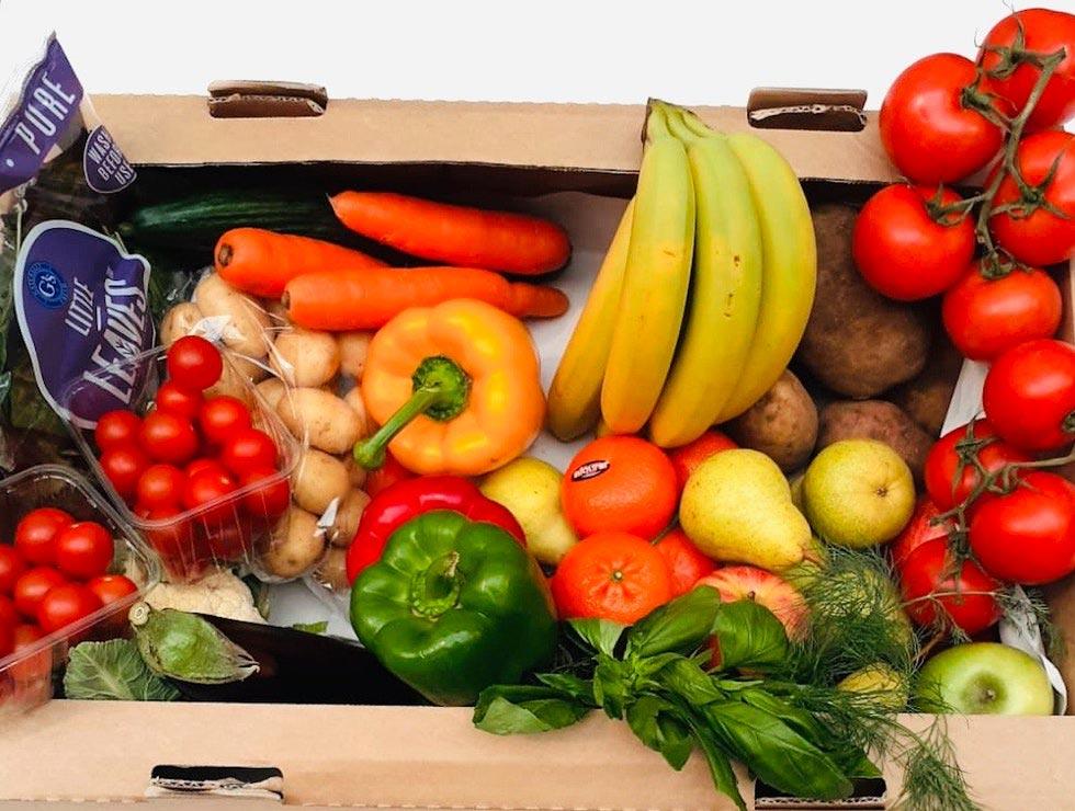 Bio groente fruit